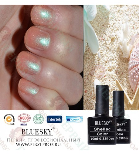 Bluesky Shellac 517 Iced Coral
