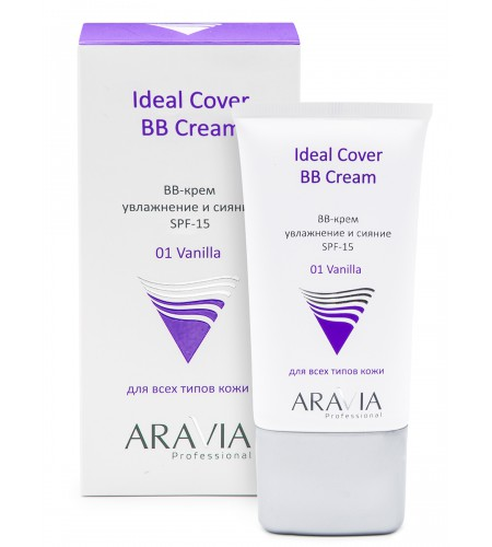 """ARAVIA Professional"" BB-крем увлажняющий SPF-15 Ideal Cover BB-Cream, тон 01, туба 50 мл"