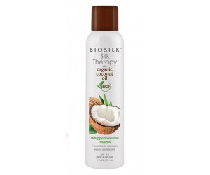 Мусс BioSilk Silk Therapy With Coconut Oil  - Whipped Volume Mousse 237 мл