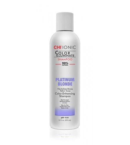 Шампунь  CHI Color Illuminate  Platinum Blonde Shampoo 355 мл