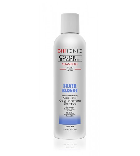 Шампунь CHI Color Illuminate Silver Blonde Shampoo  355 мл